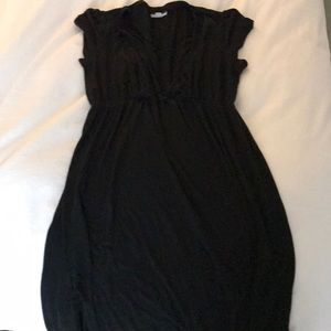 A Pea in the Pod Intimates & Sleepwear - A Pea in the pod black nursing gown size L